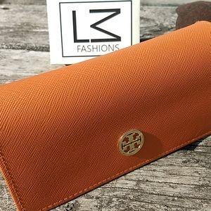 🆕🔥Tori Burch Orange Large Sunglass case